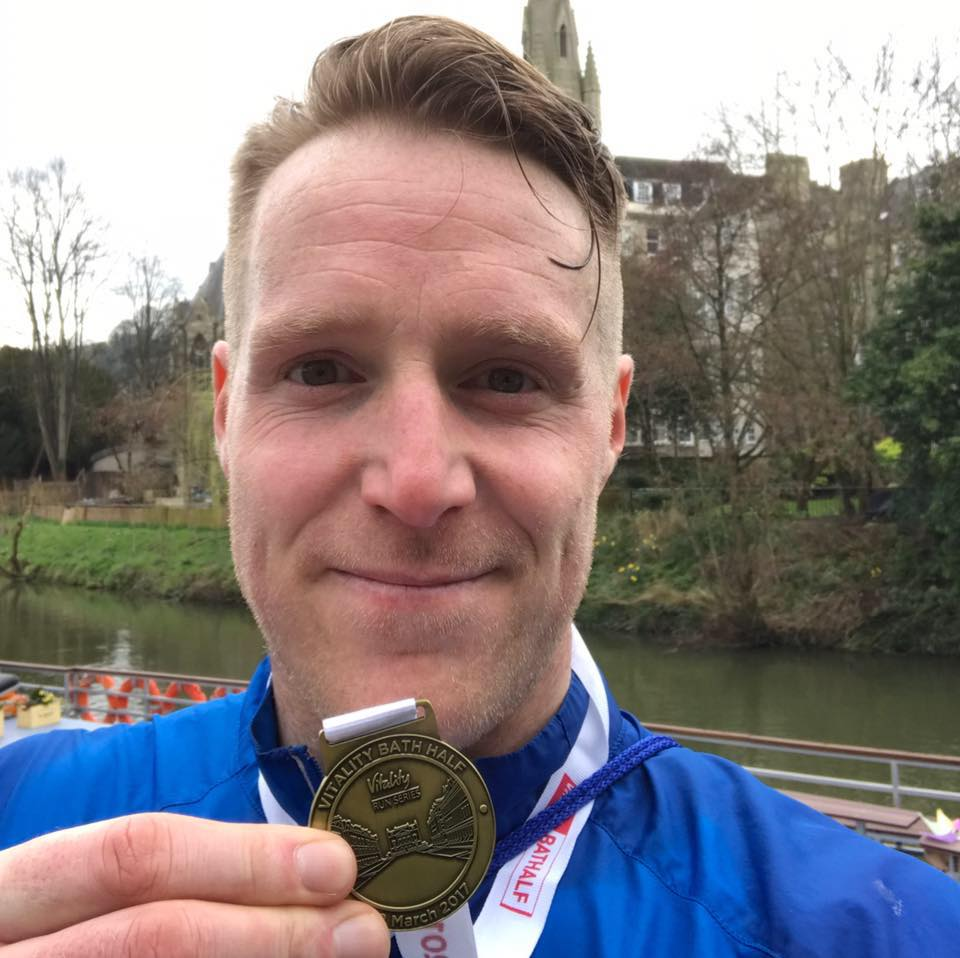 Gary Phillips London Marathon 2017 fundraiser