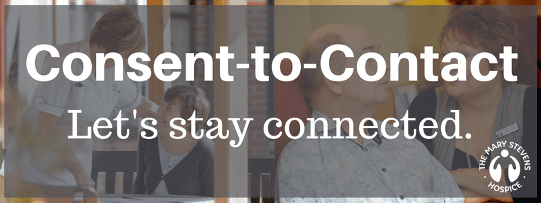 Consent to contact banner