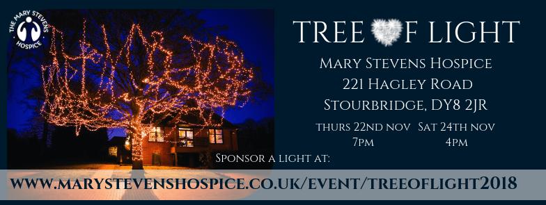Tree of Light - banner 2018