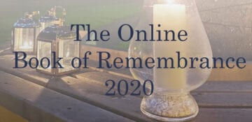 The Online Book of Remembrance 2020